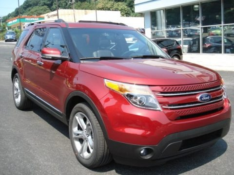 2013 Ford Explorer Limited EcoBoost Data, Info and Specs