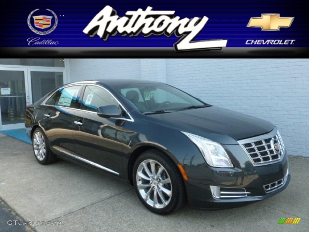 2013 Graphite Metallic Cadillac Xts Luxury Fwd 67340884 Car Color Galleries