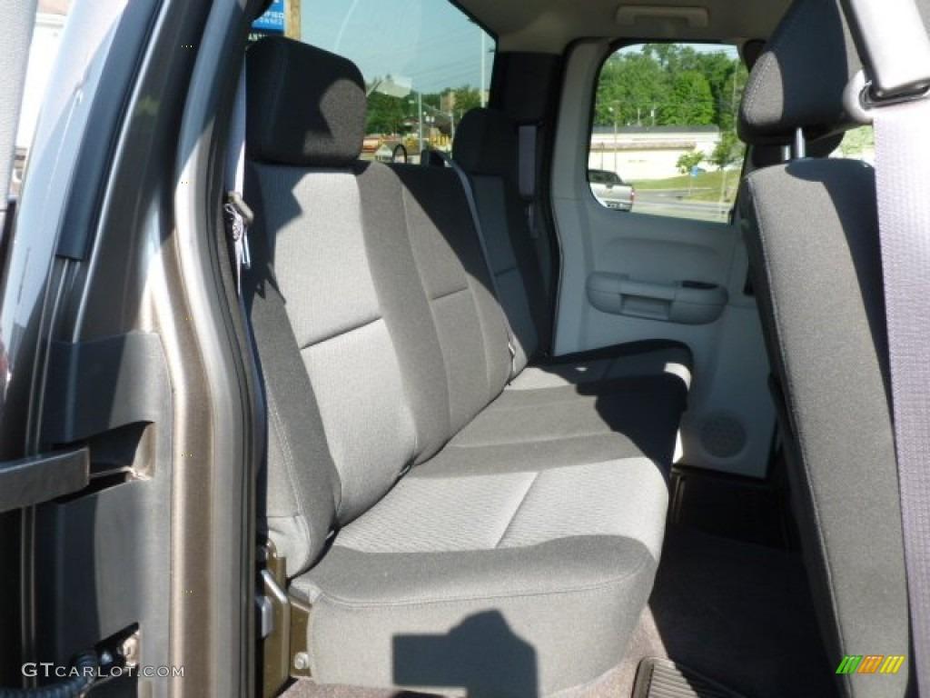2012 Silverado 1500 LS Extended Cab 4x4 - Mocha Steel Metallic / Dark Titanium photo #12