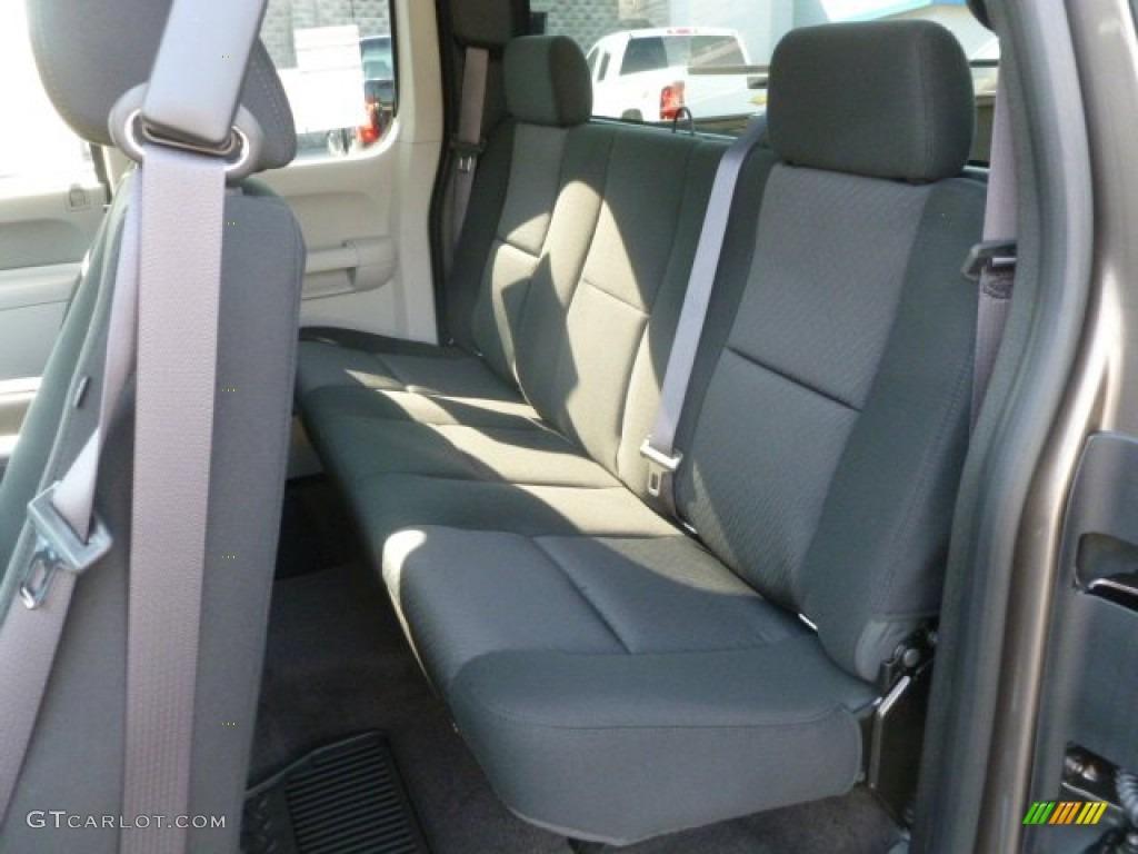 2012 Silverado 1500 LS Extended Cab 4x4 - Mocha Steel Metallic / Dark Titanium photo #14