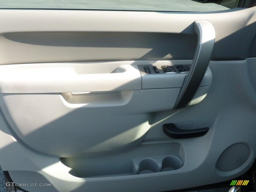 2012 Silverado 1500 LS Extended Cab 4x4 - Mocha Steel Metallic / Dark Titanium photo #18