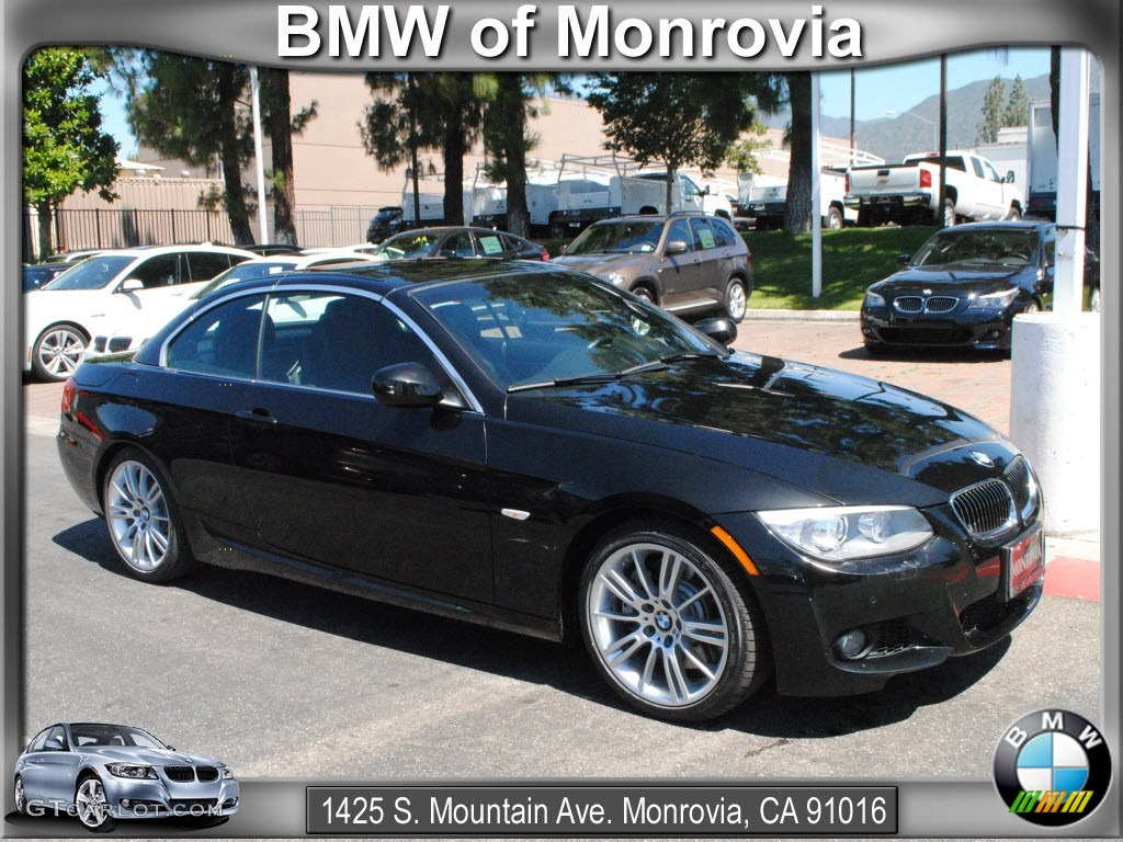 2011 Black Sapphire Metallic Bmw 3 Series 335i Convertible