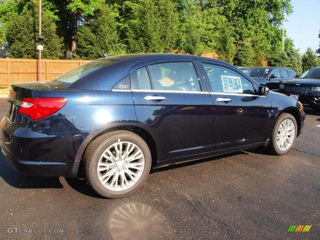 Blackberry Pearl Coat - 2012 Chrysler 200 Touring Sedan ...  |2012 Chrysler 200 Limited Blackberry Pearl