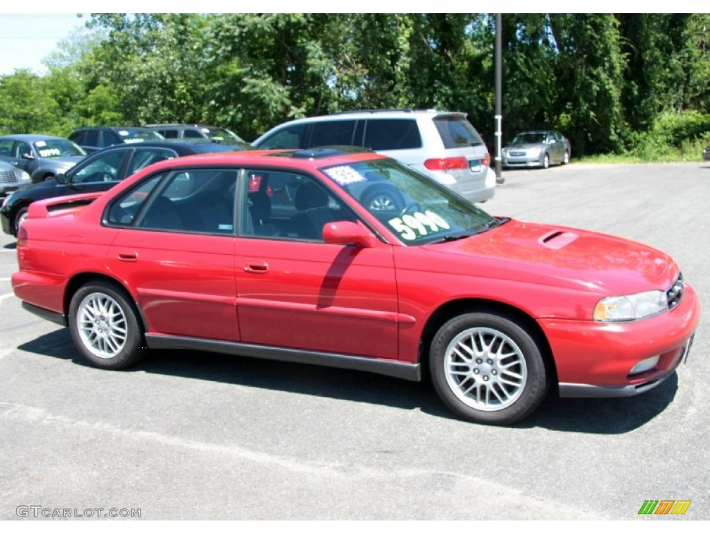 rio red 1999 subaru legacy gt sedan exterior photo. Black Bedroom Furniture Sets. Home Design Ideas