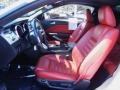 Red Leather Front Seat Photo for 2005 Ford Mustang #67394216