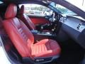 Red Leather Front Seat Photo for 2005 Ford Mustang #67394240