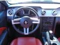 Red Leather Steering Wheel Photo for 2005 Ford Mustang #67394255