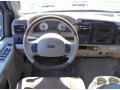 2006 Ford F250 Super Duty Castano Brown Leather Interior Dashboard Photo