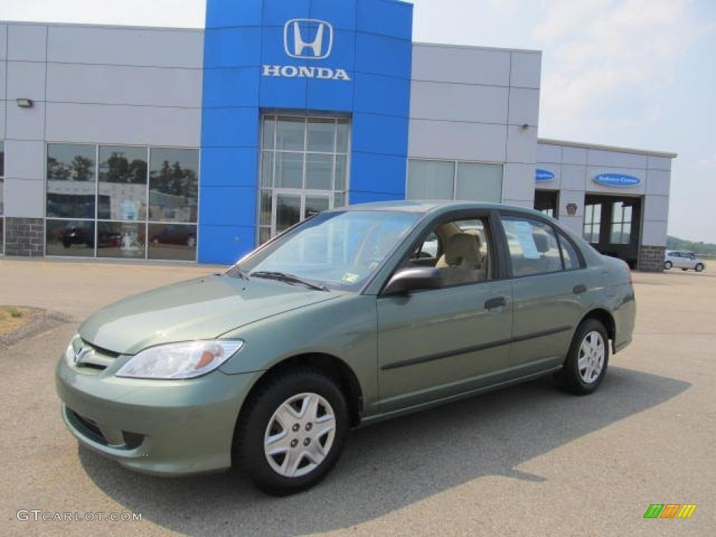 Galapagos Green Honda Civic