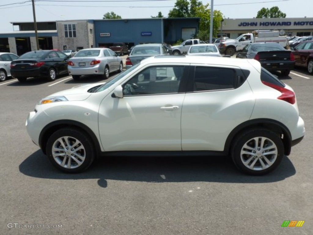 White Pearl 2012 Nissan Juke Sv Awd Exterior Photo