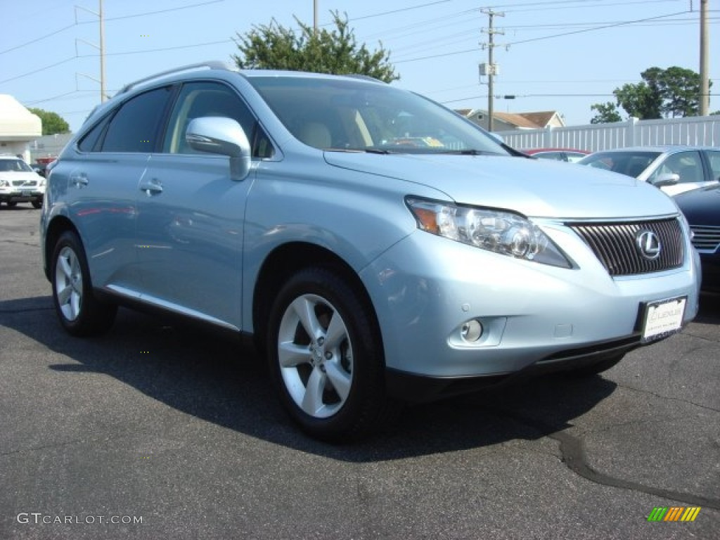 2012 cerulean blue metallic lexus rx 350 awd 67402107. Black Bedroom Furniture Sets. Home Design Ideas