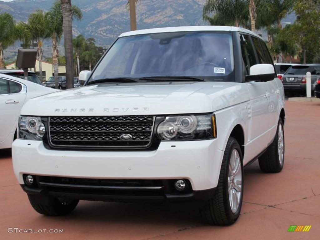 2012 Fuji White Land Rover Range Rover HSE LUX 67402194