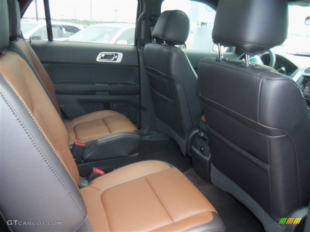 Pecan/Charcoal Black Interior 2013 Ford Explorer Limited Photo #67431420