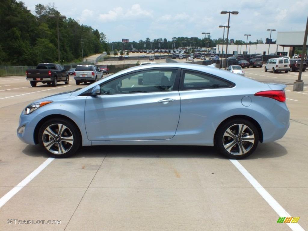 Blue Sky Metallic 2013 Hyundai Elantra Coupe Se Exterior Photo 67433802 Gtcarlot Com