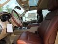 2012 Green Gem Metallic Ford F250 Super Duty King Ranch Crew Cab 4x4  photo #3