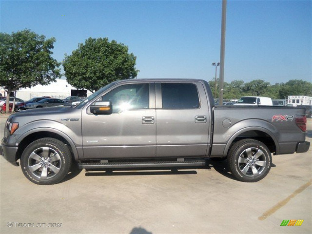 sterling gray metallic 2012 ford f150 fx2 supercrew exterior photo 67441794. Black Bedroom Furniture Sets. Home Design Ideas