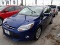 2012 Sonic Blue Metallic Ford Focus SE 5-Door  photo #1