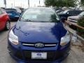 2012 Sonic Blue Metallic Ford Focus SE 5-Door  photo #2