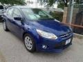 2012 Sonic Blue Metallic Ford Focus SE 5-Door  photo #3