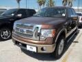 Golden Bronze Metallic 2012 Ford F150 King Ranch SuperCrew 4x4