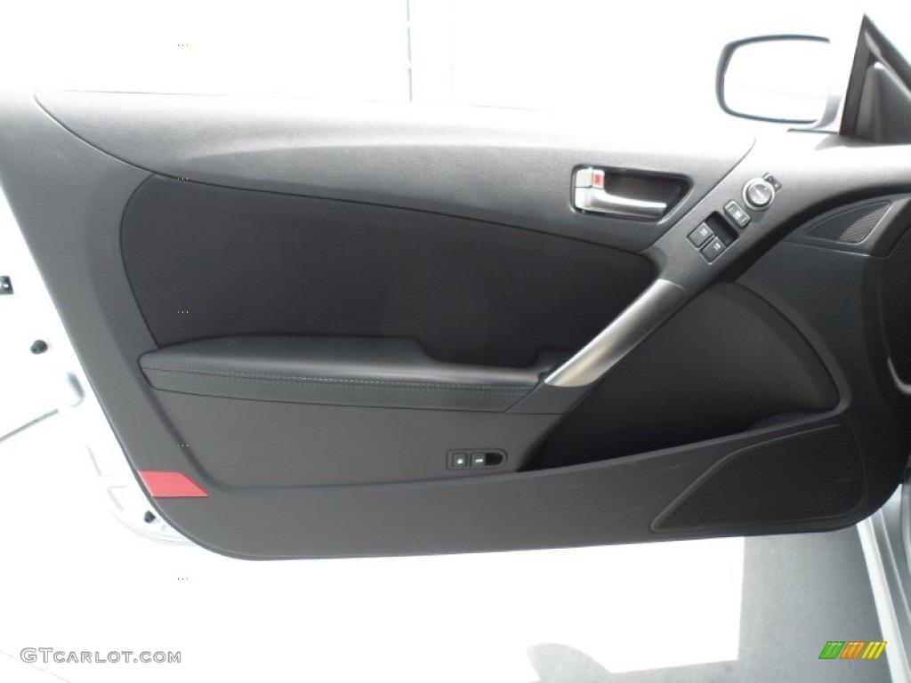 2013 Hyundai Genesis Coupe 2 0t Black Cloth Door Panel Photo 67458249