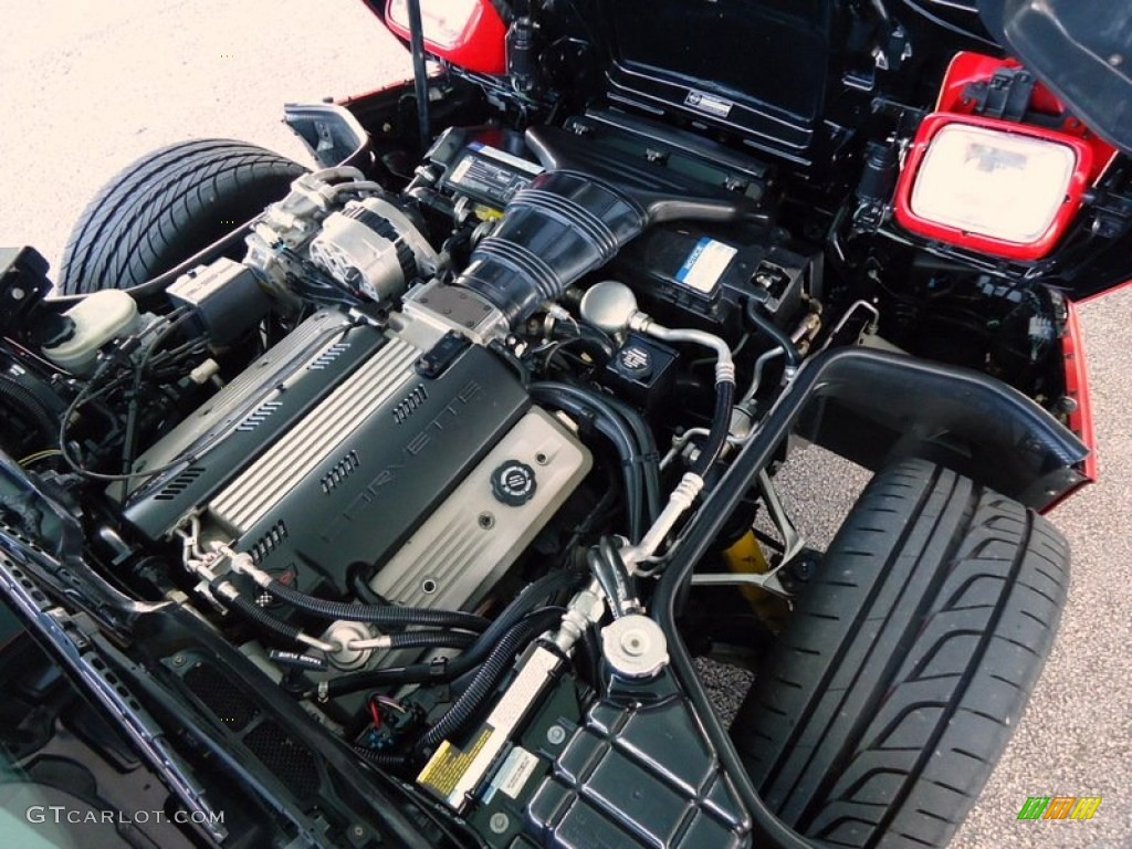 1992 chevrolet corvette convertible 5.7 liter ohv 16-valve ... 1992 corvette engine diagram