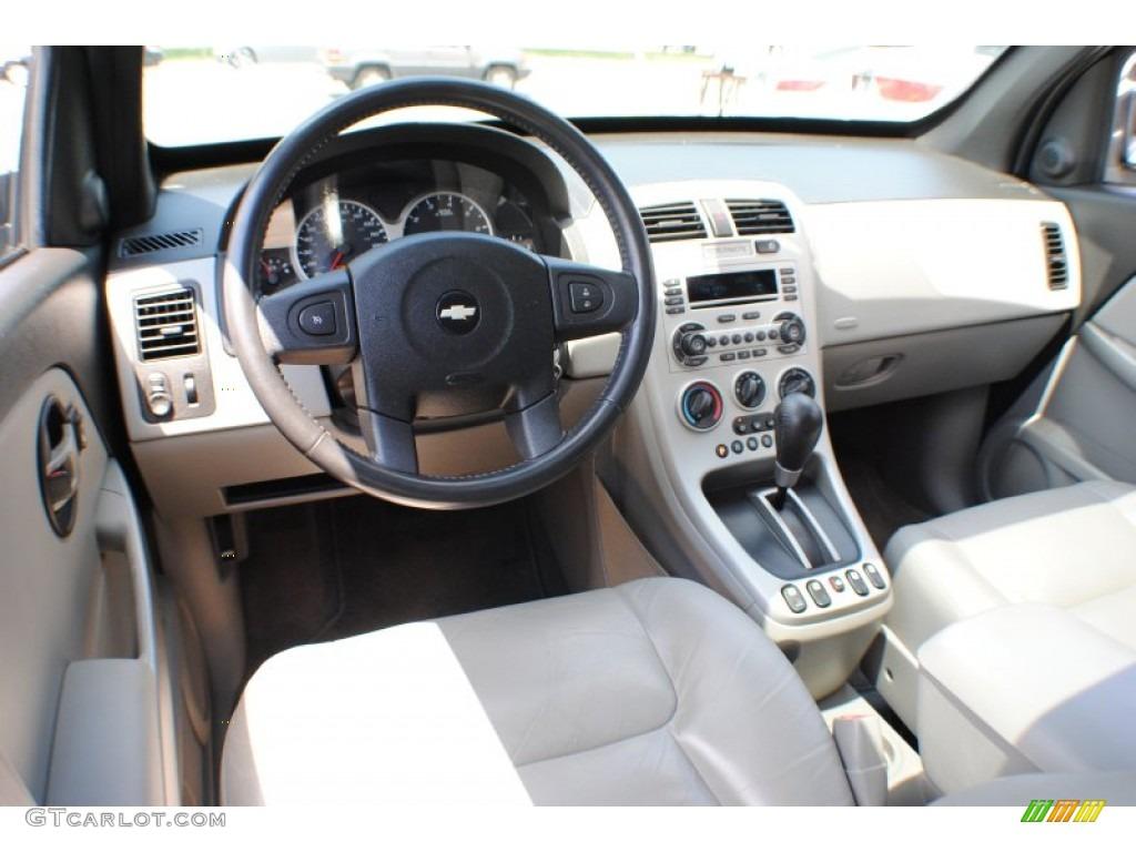2005 Chevrolet Equinox LT AWD Light Gray Dashboard Photo #67467550