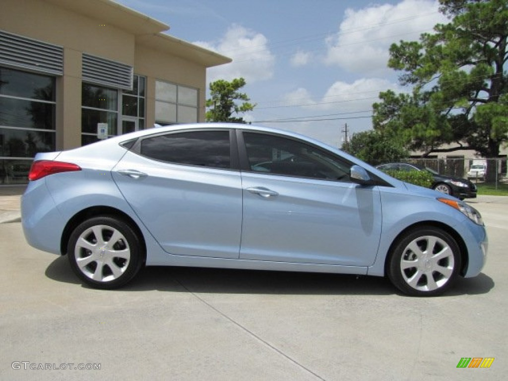 Blue Sky Metallic 2012 Hyundai Elantra Limited Exterior Photo 67468756 Gtcarlot Com