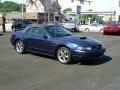 2003 True Blue Metallic Ford Mustang GT Convertible  photo #2