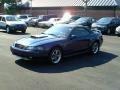 2003 True Blue Metallic Ford Mustang GT Convertible  photo #4