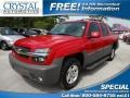 Victory Red 2002 Chevrolet Avalanche Gallery