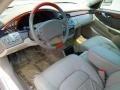 2001 Cadillac DeVille Neutral Shale Interior Prime Interior Photo