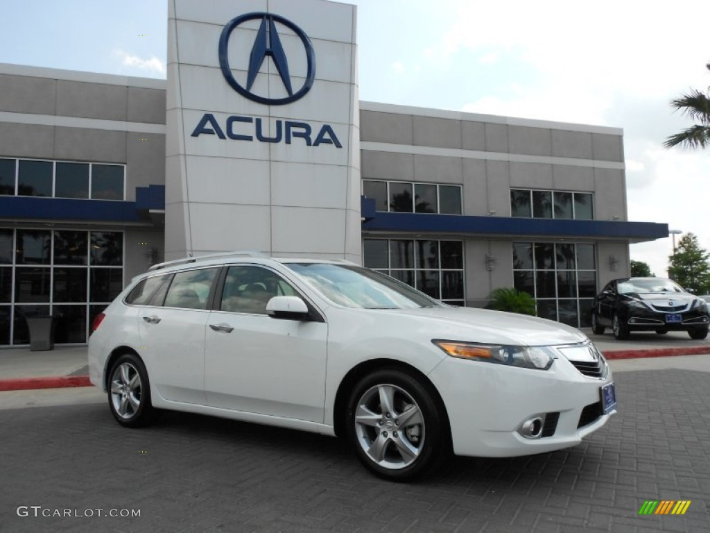 2012 bellanova white pearl acura tsx sport wagon 67429383. Black Bedroom Furniture Sets. Home Design Ideas