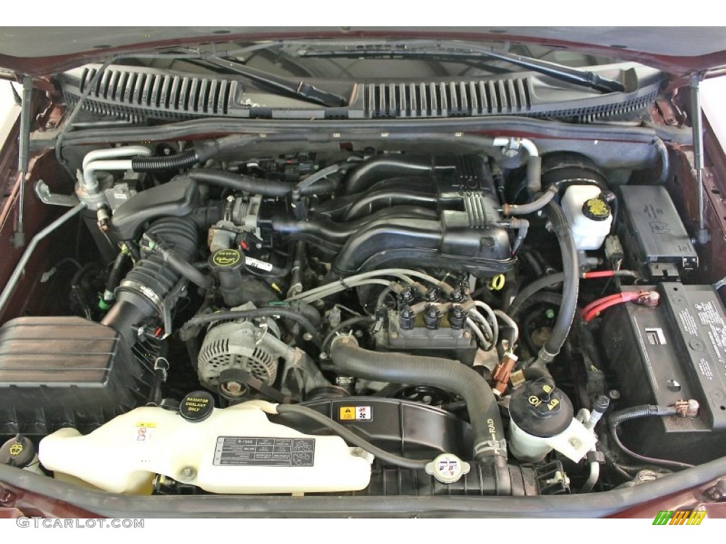 2006 Ford Explorer Eddie Bauer 4x4 4 0 Liter Sohc 12 Valve V6 Engine Jeep 4.0  Engine Diagram 4.0 Liter Ford Engine Diagram