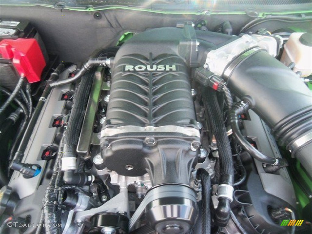 2013 ford mustang roush stage 3 coupe engine photos. Black Bedroom Furniture Sets. Home Design Ideas