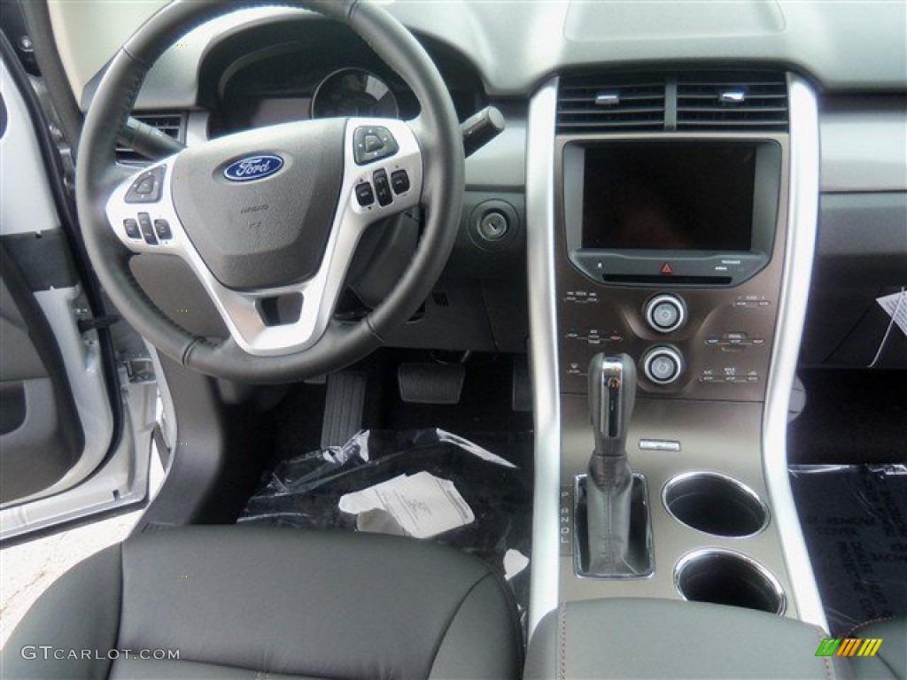 2013 Ford Edge SEL EcoBoost Charcoal Black Dashboard Photo ...
