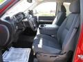 2009 Victory Red Chevrolet Silverado 1500 LT Crew Cab 4x4  photo #8