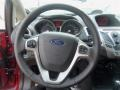 Charcoal Black Steering Wheel Photo for 2013 Ford Fiesta #67505264