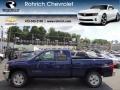 2013 Blue Topaz Metallic Chevrolet Silverado 1500 LT Extended Cab 4x4  photo #1