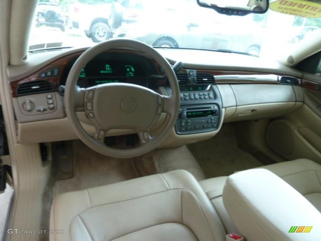 2005 Cadillac Deville Sedan Cashmere Dashboard Photo 67512958
