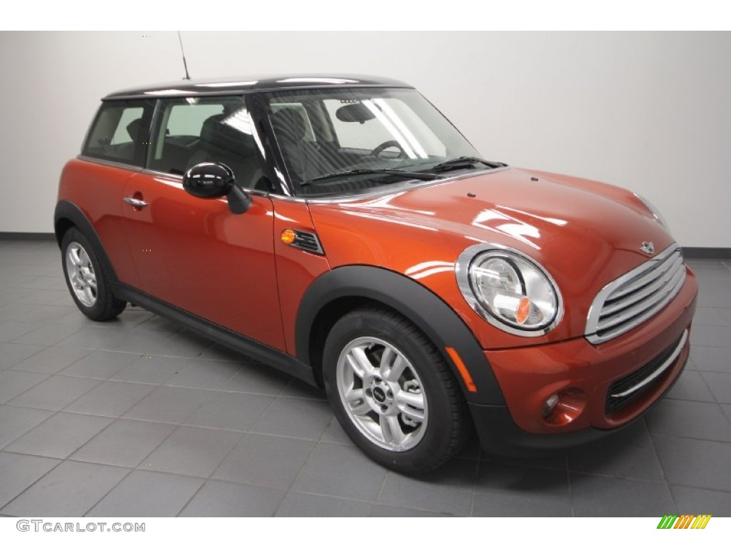 2012 spice orange metallic mini cooper hardtop 67494121 car color galleries. Black Bedroom Furniture Sets. Home Design Ideas