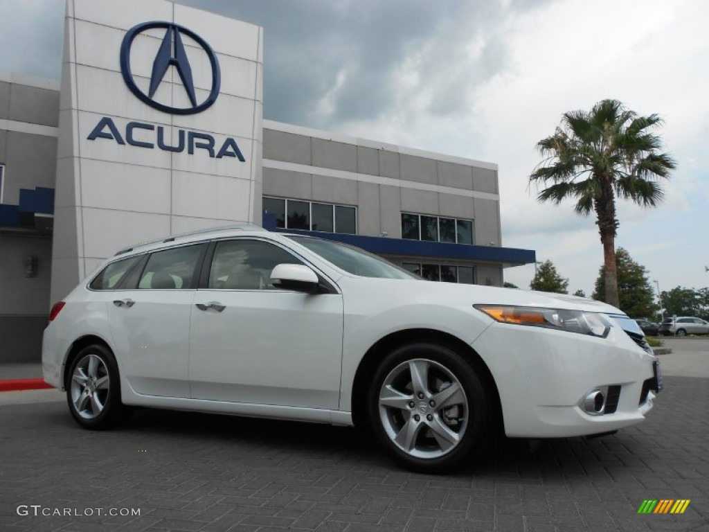2012 bellanova white pearl acura tsx technology sport. Black Bedroom Furniture Sets. Home Design Ideas
