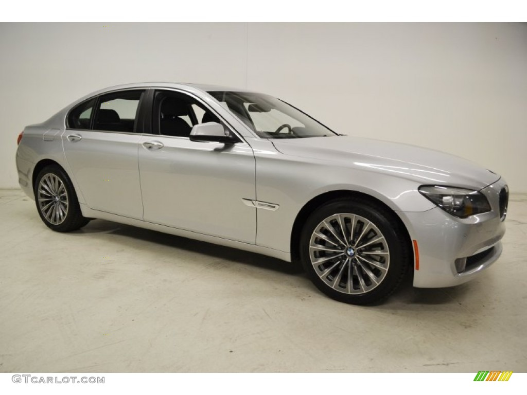 Titanium Silver Metallic 2012 BMW 7 Series 740i Sedan Exterior Photo 67532453