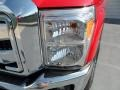 2012 Vermillion Red Ford F250 Super Duty XLT Crew Cab 4x4  photo #8