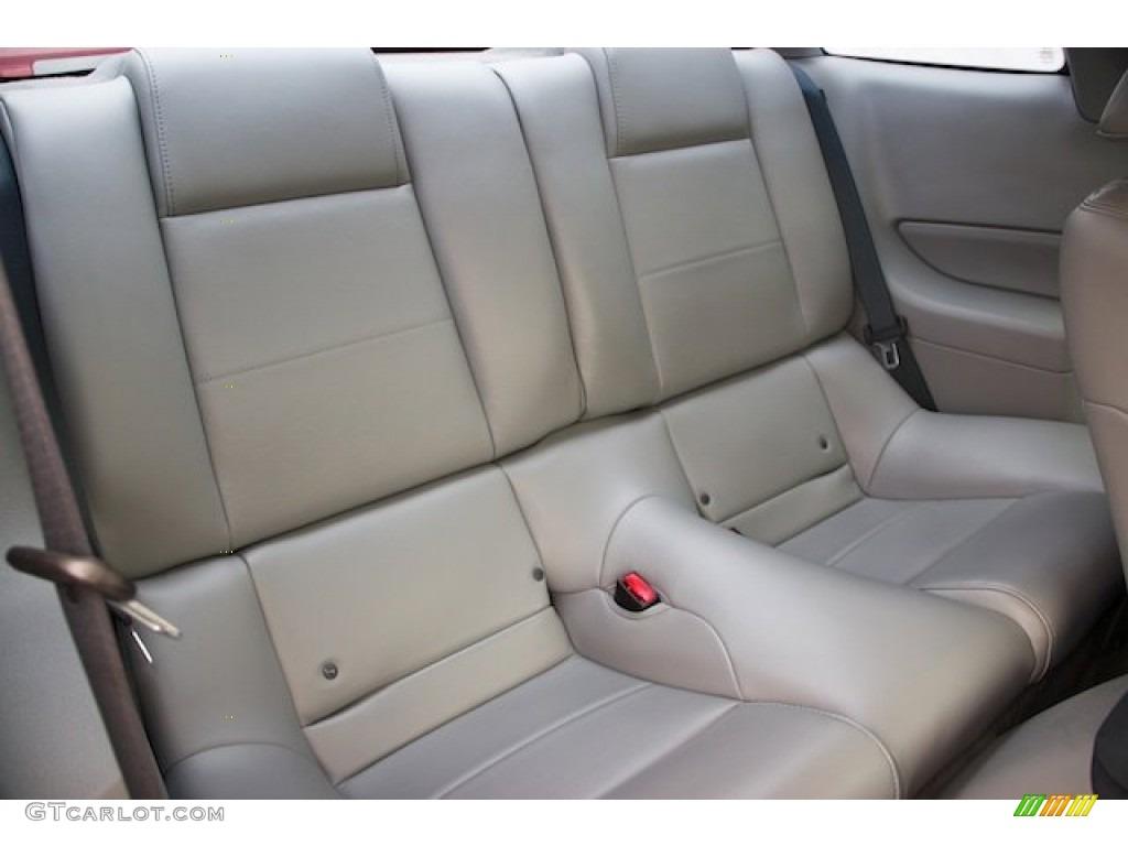 Light Graphite Interior 2006 Ford Mustang V6 Premium Coupe Photo #67554377
