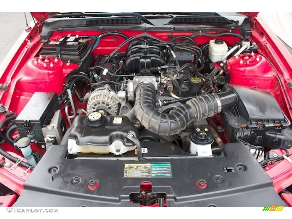 2006 Ford Mustang V6 Premium Coupe 4.0 Liter SOHC 12-Valve V6 Engine Photo #67554408