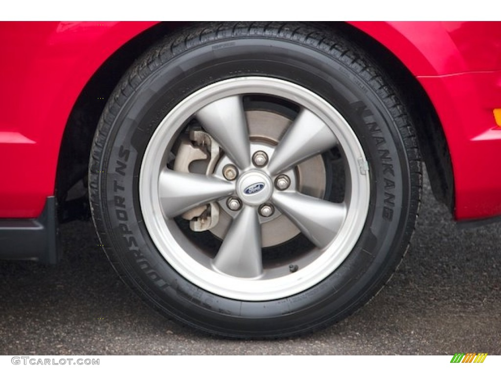 2006 Ford Mustang V6 Premium Coupe Wheel Photo #67554420