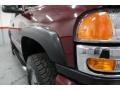 2003 Dark Toreador Red Metallic GMC Sierra 2500HD SLE Extended Cab 4x4  photo #9