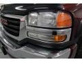 2003 Dark Toreador Red Metallic GMC Sierra 2500HD SLE Extended Cab 4x4  photo #13