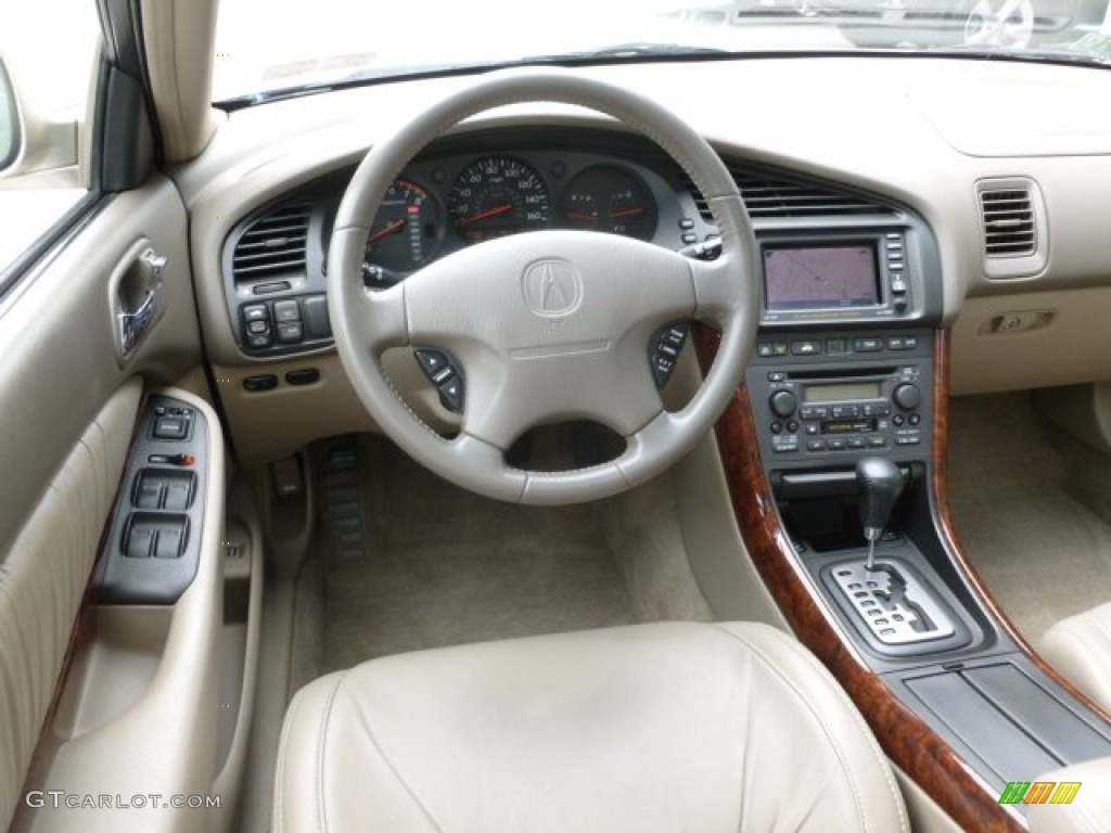 2001 Acura TL 3.2 Parchment Dashboard Photo #67564839 | GTCarLot.com